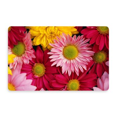 Bungalow Flooring New Wave 18-Inch x 27-Inch Big Bloom Door Mat