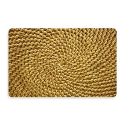 Bungalow Flooring New Wave 18-Inch x 27-Inch Radial Weave Door Mat