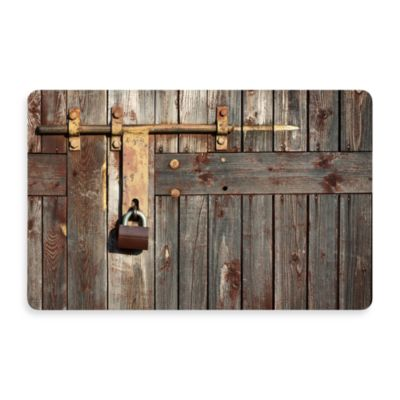Bungalow Flooring New Wave 18-Inch x 27-Inch Padlocked Door Mat