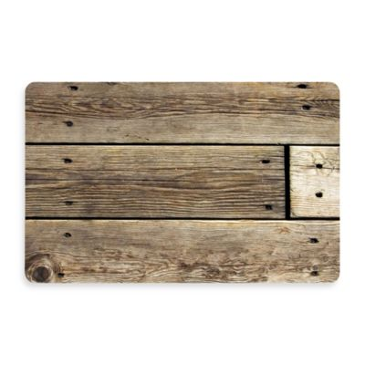 Bungalow Flooring New Wave Rustic Wood Photo Doormat