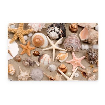 Bungalow Flooring New Wave 18-INch x 27-Inch Beachcomber II Door Mat