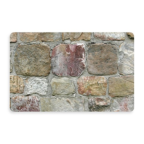 Bungalow Flooring New Wave 18-Inch x 27-Inch Rock Wall Door Mat
