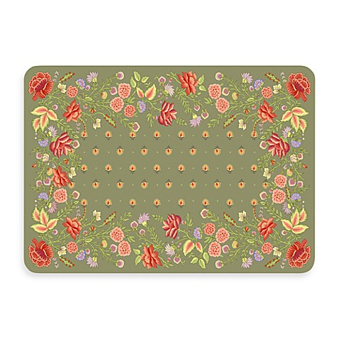 Bungalow Flooring New Wave 22-Inch x 31-Inch Palazzo Moss Door Mat