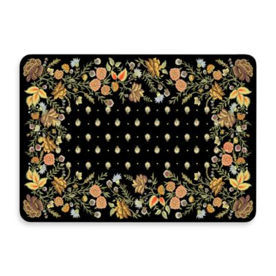 New Wave 22-Inch x 31-Inch Palazzo Onyx Floor Mat