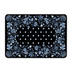 Bungalow Flooring New Wave Palazzo Black Chambray Doormat