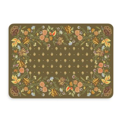 Bungalow Flooring New Wave 22-Inch 31-Inch Palazzo Umber Door Mat