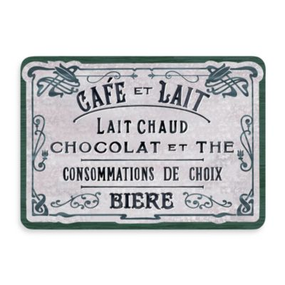 Bungalow Flooring New Wave French Chocolate Green Doormat