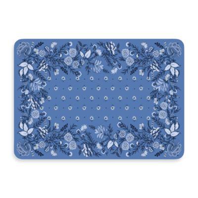 Bungalow Flooring New Wave Favenay Azure Doormat