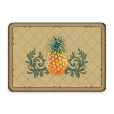 Bungalow Flooring New Wave Khaki Pineapple Lattice Door Mat