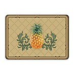Bungalow Flooring New Wave Khaki Pineapple Lattice Doormat
