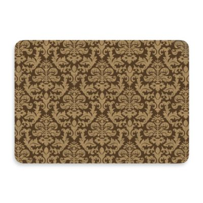 Bungalow Flooring New Wave Brown Tapestry Kitchen Door Mat
