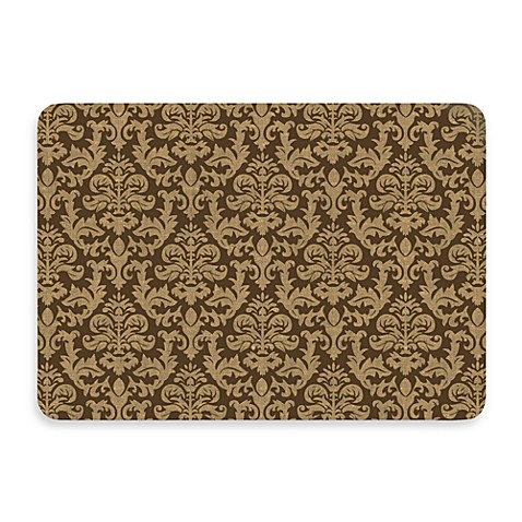 Bungalow Flooring New Wave 22-Inch x 31-Inch Brown Tapestry Kitchen Door Mat