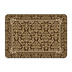 Bungalow Flooring New Wave Brown Tapestry Border Doormat