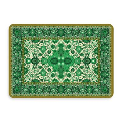 Bungalow Flooring New Wave Tabriz Green Door Mat