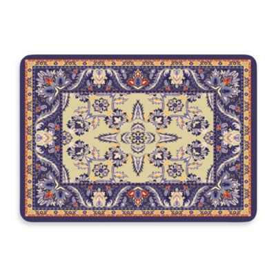 Bungalow Flooring New Wave Siam Navy Door Mat