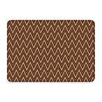 Bungalow Flooring New Wave Chevron Chocolate Doormat