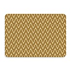 Bungalow Flooring New Wave Chevron Cashew Doormat