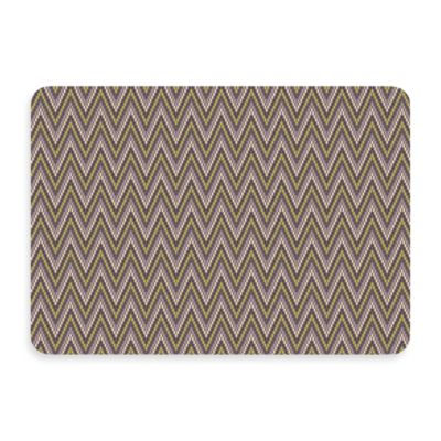 Bungalow Flooring New Wave Chevron Grey Doormat