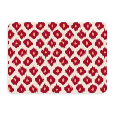 Bungalow Flooring New Wave Ikat Red Door Mat
