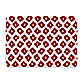 Bungalow Flooring New Wave Ikat Red Doormat