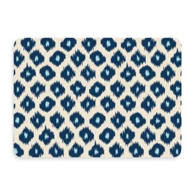 Bungalow Flooring New Wave Ikat Blue Doormat