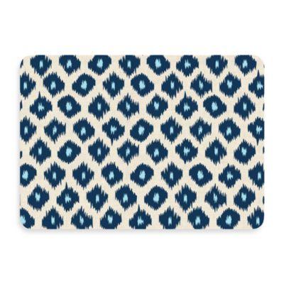 Bungalow Flooring New Wave Ikat Blue Door Mat