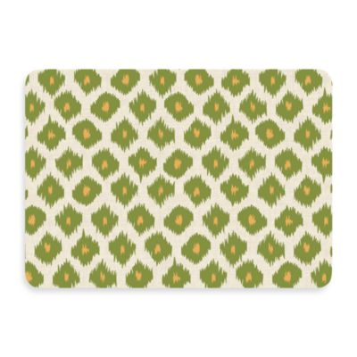 Bungalow Flooring New Wave Ikat Green Doormat