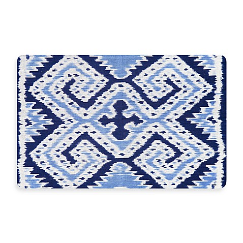 Bungalow Flooring New Wave 22-Inch x 31-Inch Ikat Wrap Door Mat