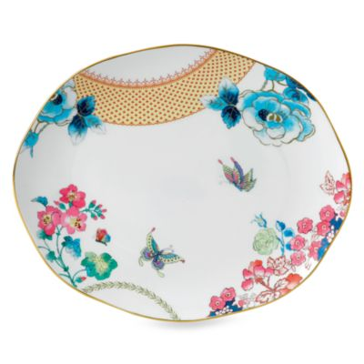 Wedgwood Butterfly Bloom 13.75-Inch Oval Plate