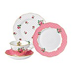Royal Albert Cheeky Pink Vintage Dinnerware Collection