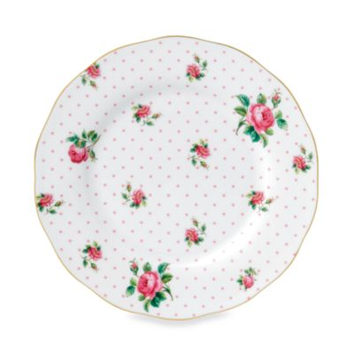 Royal Albert Vintage Salad Plate in Cheeky Pink