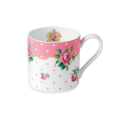 Royal Albert Vintage Modern Mug in Cheeky Pink