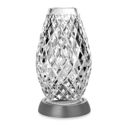Waterford® Diama Large Hurricane Candleholder with Metal Base