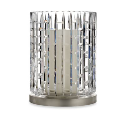 Waterford® Luma Hurricane Candleholder with Metal Base