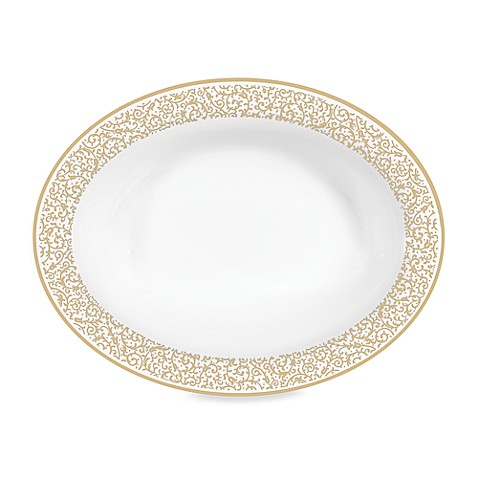 Vera Wang Wedgwood® Filigree Gold 9.75-Inch Open Vegetable Bowl