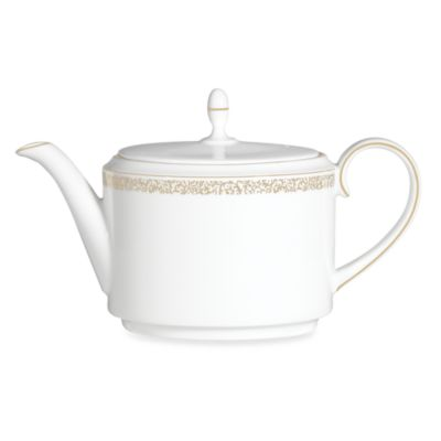 Vera Wang Wedgwood® Filigree Gold 6.5-Inch Teapot