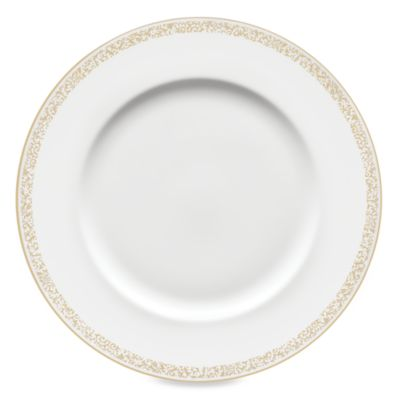 Vera Wang Wedgwood® Filigree Gold 10.75-Inch Dinner Plate