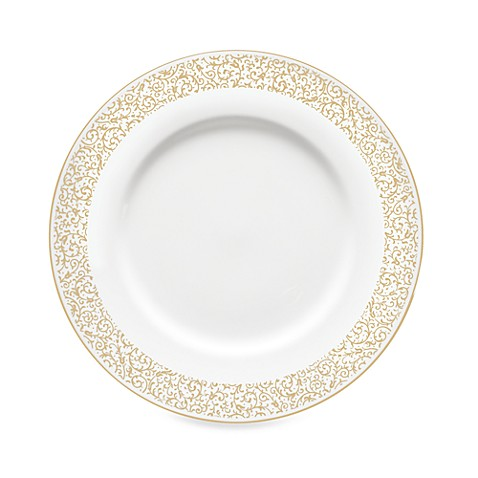 Vera Wang Wedgwood® Filigree Gold 9-Inch Accent Plate