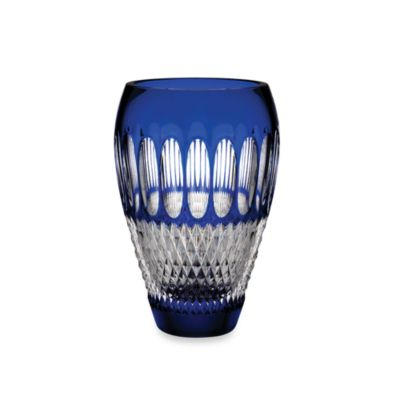 Waterford® 60th Anniversary Colleen 8-Inch Vase in Cobalt