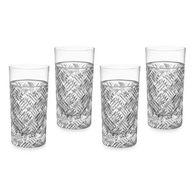 Marquis® by Waterford Versa Highball Glasses (Set of 4)