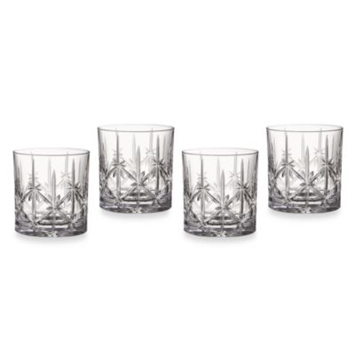 Marquis® by Waterford Sparkle 18 oz. Double Old-Fashioned Glasses (Set of 4)