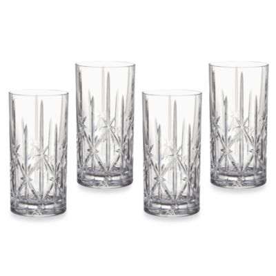 Marquis® by Waterford Sparkle 18 oz. Highball Glasses (Set of 4)