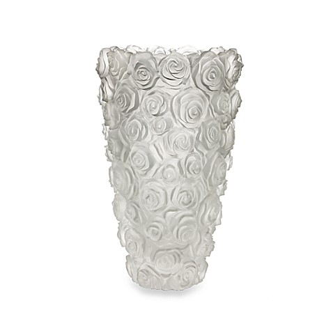 Monique Lhuillier Waterford® Sunday Rose 10-Inch Vase