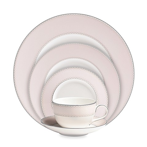 Monique Lhuillier Waterford® Dentelle Blush 5-Piece Place Setting