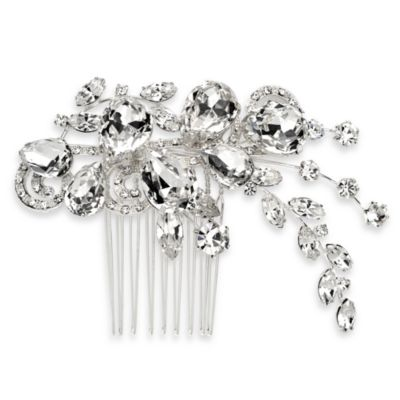 Crystal Bloom Side Comb