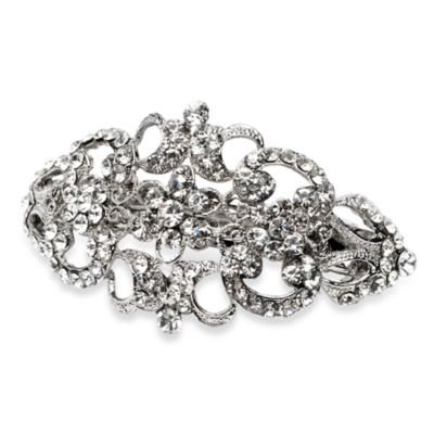 Victorian Rhinestone Wedding Barrette