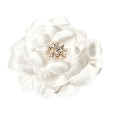 Sweetness Silk and Pearl Flower Headpiece
