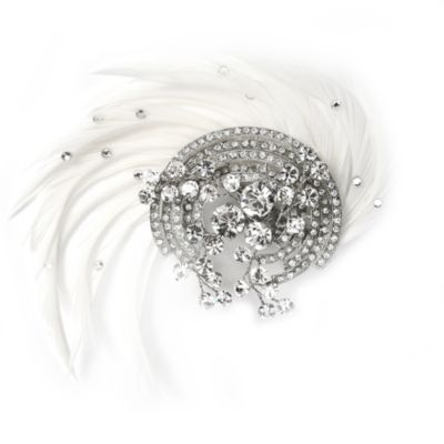 Rosalinda Feather Clip