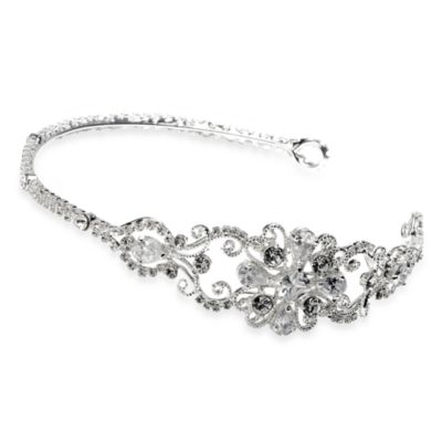 Lucia Rhinestone Wedding Filigree Headband