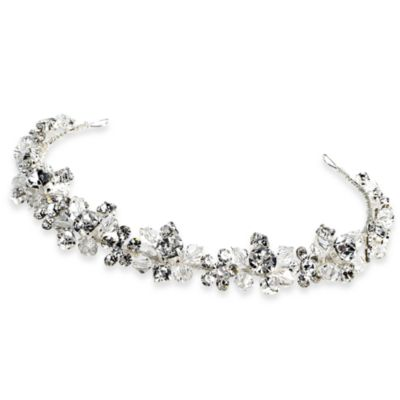 Swarovski Crystal and Rhinestone Flower Headband